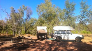 Camp at Gregory National Park