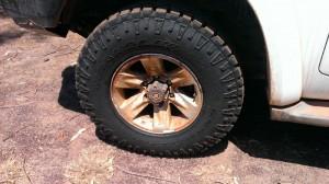 Goodyear Duratrac tyres