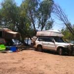 Camp at Mambi Island Boat Ramp