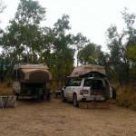 Camp at Walardi