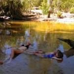 Lying in Douglas hot springs