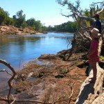 Fishing at Oolloo Crossing on the Daly River