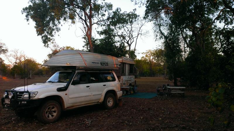 Camp at the Lodge at Dundee