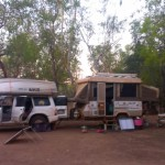 Camp at Nitmiluk National Park