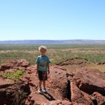 Hendrix at the Jarnem lookout