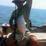 Nath caught a trevally