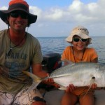 Elokin with her big trevally