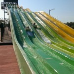 Hendrix and Elokin coming down the slide