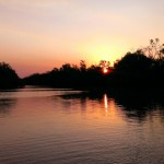 Sunset on the Wildman River